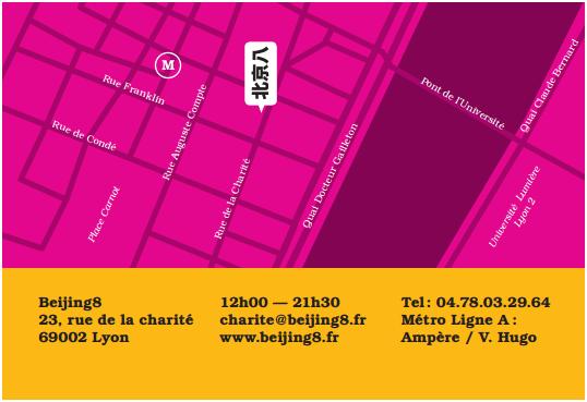 Beijing 8 carte