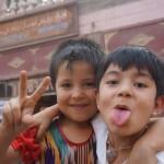 Kashgar-enfants ouïgoure